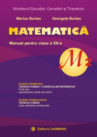Manual clasa a XII-a, M2,