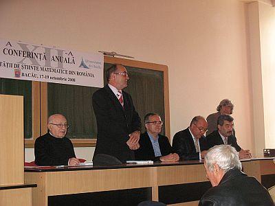 Cuvant de deschidere al prof. Radu Gologan, presedinte SSMR